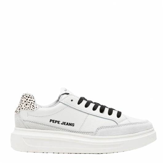 PEPE JEANS - ABBEY BASS PLS30927 (800) ΛΕΥΚΟ