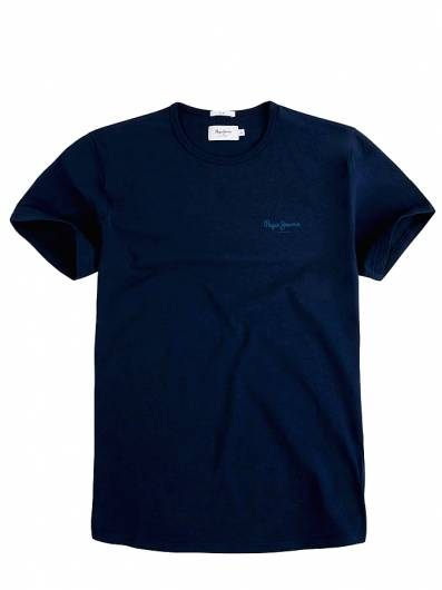 Pepe Jeans - T-Shirt Original Basic PM503835 (595) Navy