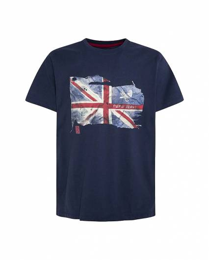 PEPE JEANS - T-SHIRT SID PM507281 (591) INK