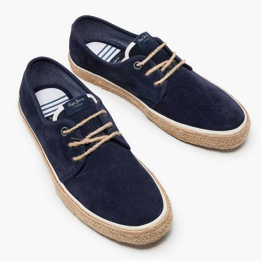 PEPE JEANS - SAILOR SUEDE PMS10249(595) NAVY -