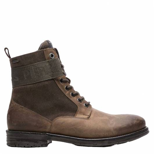 PEPE JEANS - TOM CUT MIX RUGGED PMS50174 (884) STAG