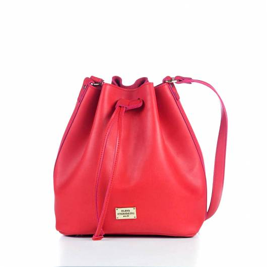 Elena Athanasiou -	Pouch Bag Soft Red -