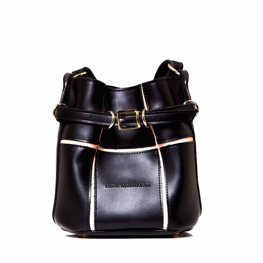 Elena Athanasiou - Urban Romance Puzzle Bag Black Small -