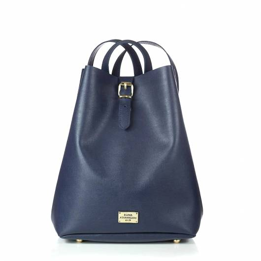Elena Athanasiou - Recycled Backpack Blue Black -