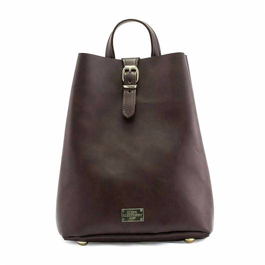 Elena Athanasiou - Recycled Backpack Brown -