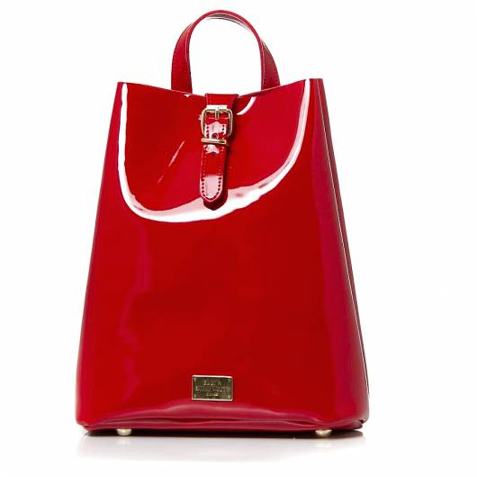 Elena Athanasiou - Recycled Backpack Vinyl Red -