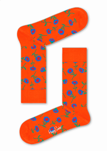 HAPPY SOCKS - SUNFLOWER SOCK SFL01-2000 -