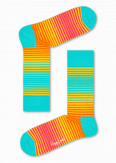 HAPPY SOCKS - SUNRISE SOCK SNR01-2000 -
