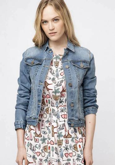 COMPANIA FANTASTICA - DENIM JACKET SP19HAN30 -