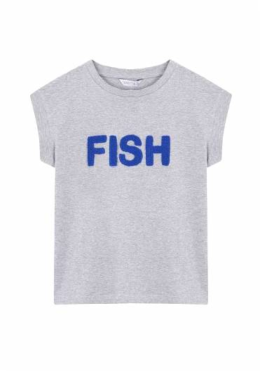 COMPANIA FANTASTICA - FISH T-SHIRT SP19SEV09 -