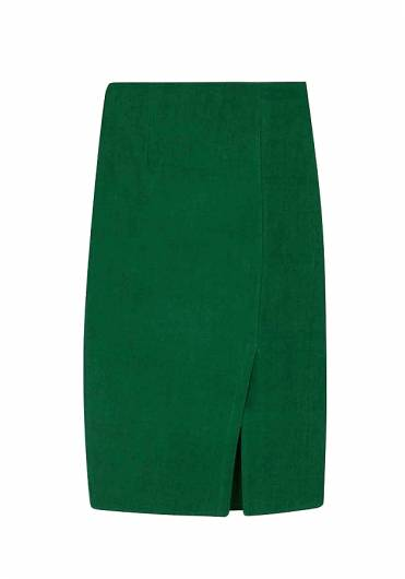 COMPANIA FANTASTICA - GREEN TUBE SKIRT SP19SHE57  -