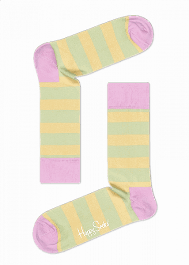 Happy Socks - Stripe Sock STR01-7002 -