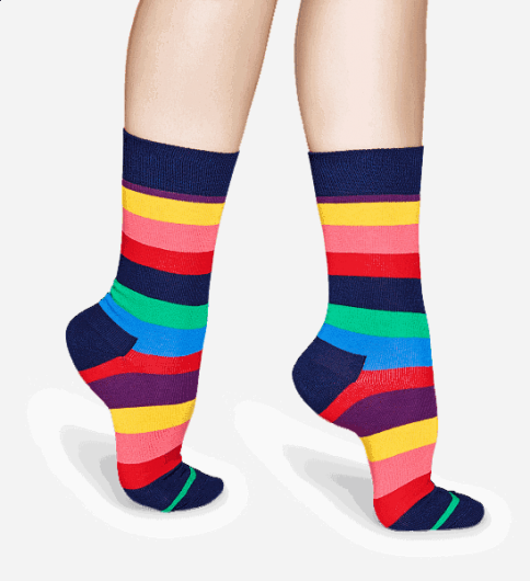 Happy Socks - STRIPE SOCK STR01-6001 -