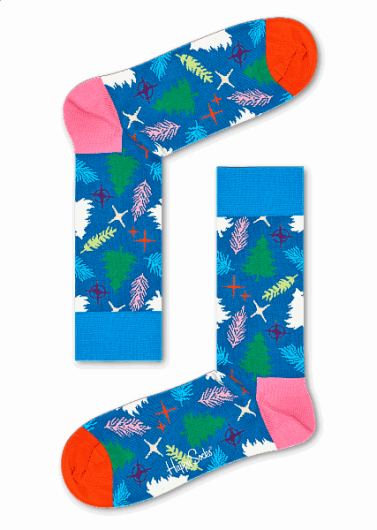 HAPPY SOCKS - TREE SOCK TRE01-6000 -