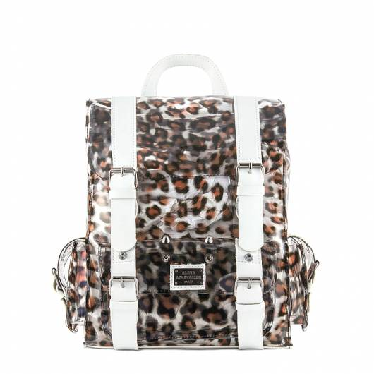 Elena Athanasiou - Wild Hearts Transparent Limited Animal Print White -
