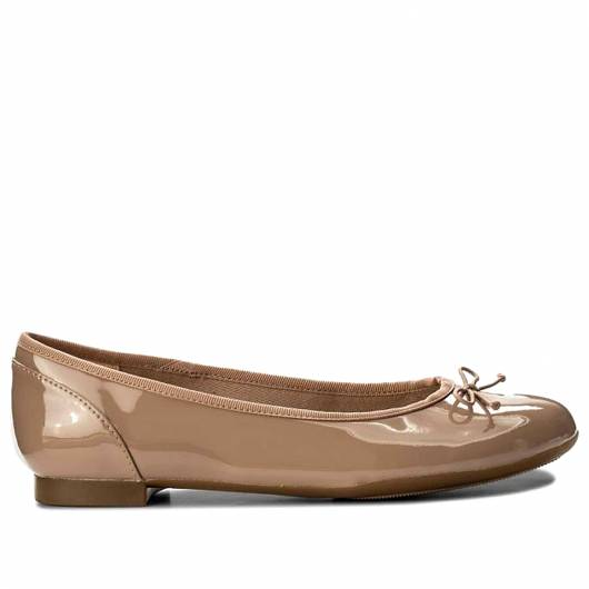 Clarks - Couture Bloom - Nude Patent