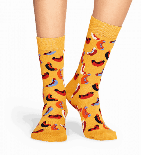 HAPPY SOCKS - HOTDOG SOCK HOT01-2000 -