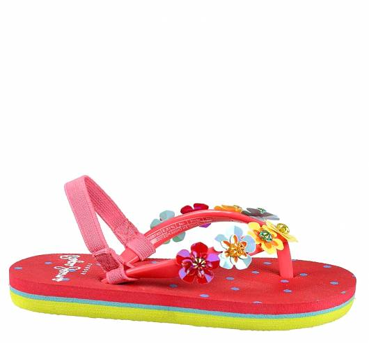 PEPE JEANS - BEACH FLOWERS KIDS PGS70030 (228) WASHED RED -