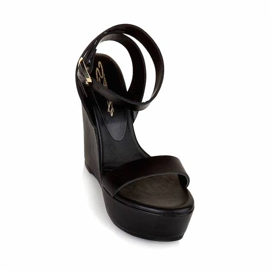SANTE - Wedges 19-244-01 BLACK -