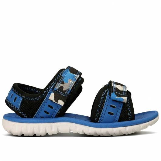Clarks - Surfing Wave - Blue Combi