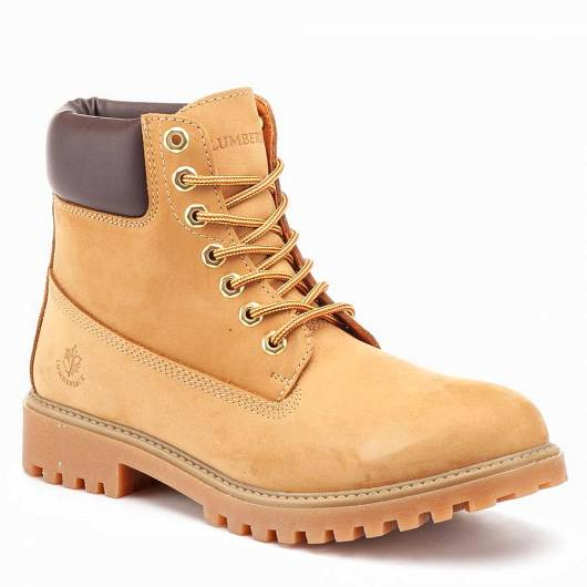 LUMBERJACK - SM00101-023 H01-M0001 YELLOW/DARK BROWN